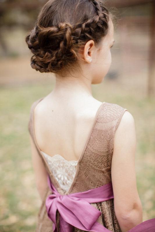 детские прически простые на длинные волосы