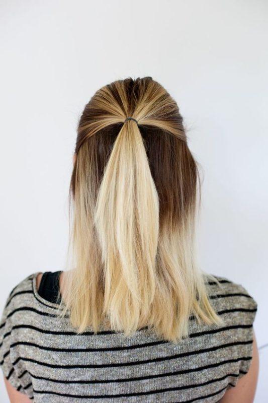 как распустить красиво волосы