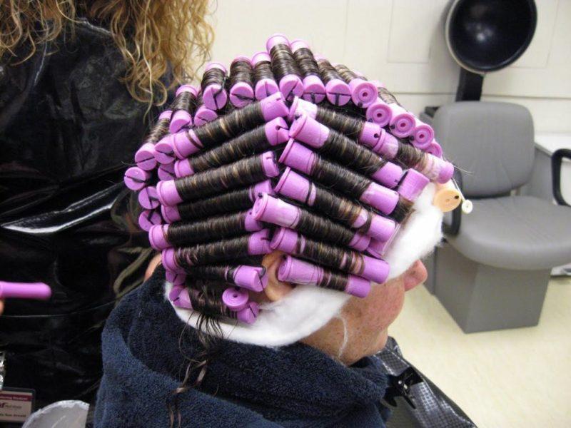 карвинг на тонкие волосы