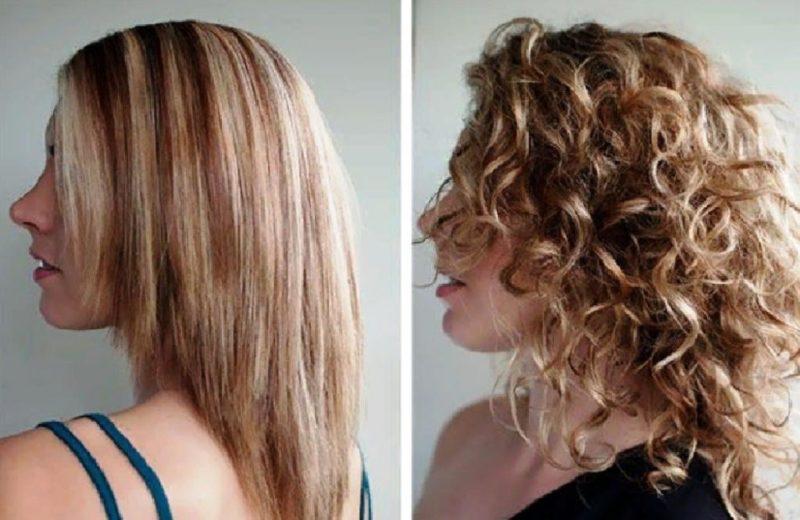 как укладывать волосы после карвинга