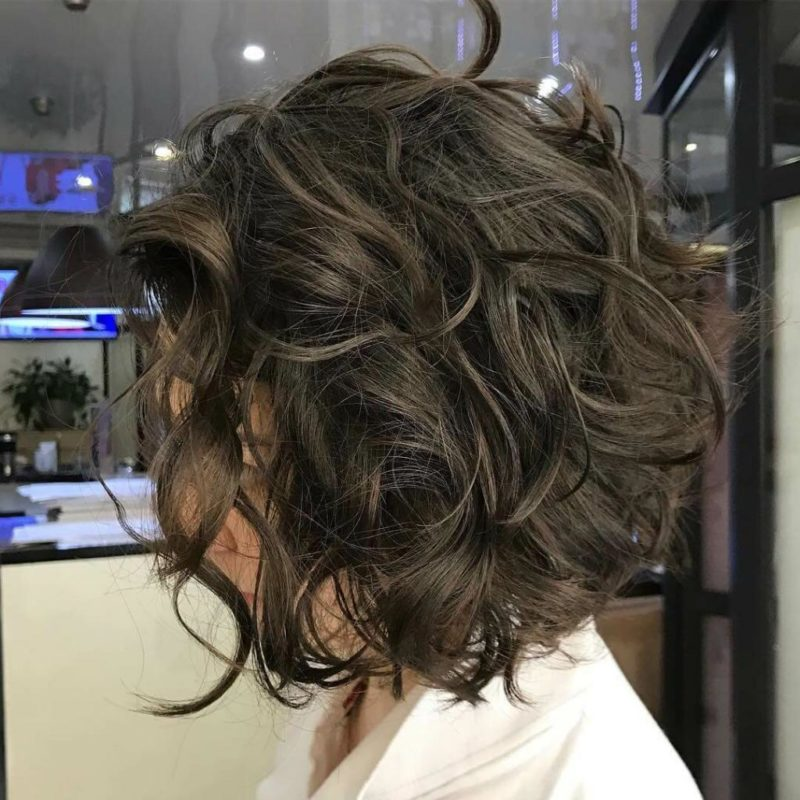 карвинг волос на каре