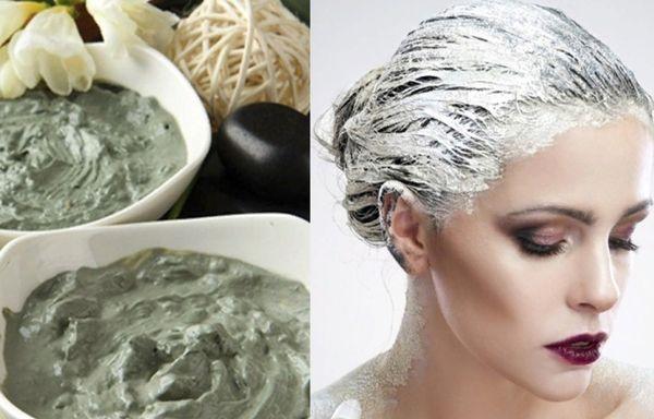 Маски для волос с голубой глиной