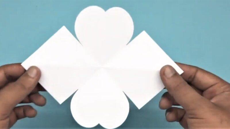 фигура шаблона для валентинки
