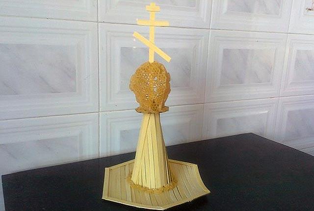 крест с куполом