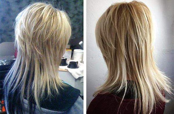 Аврора: длинные волосы