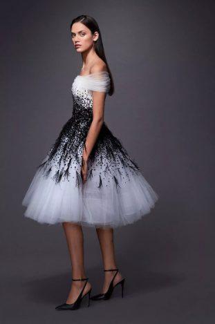 модное короткое платье на выпускной 2020