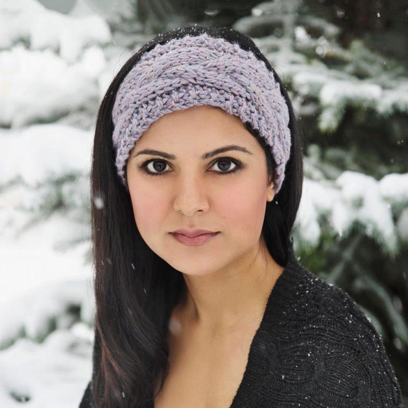 Зимние повязки на голову