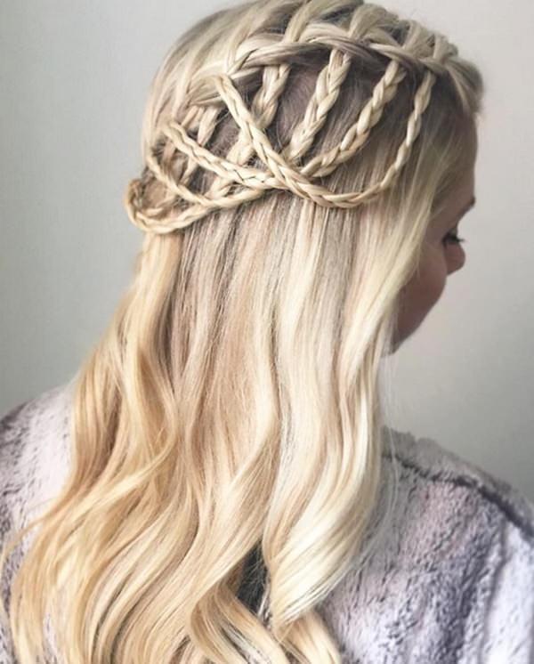 Сеточка из волос.